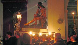 XIV Encuentro ante el Stmo. Cristo de la Humildad y Paciencia.