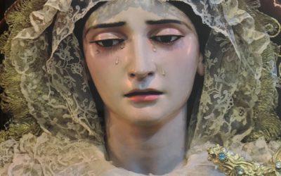Ntra. Sra. de la Amargura en la portada de la Revista Getsemani