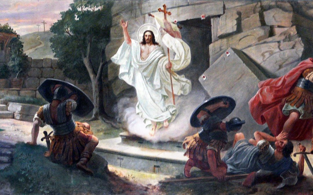 Feliz Pascua de Resurrección.