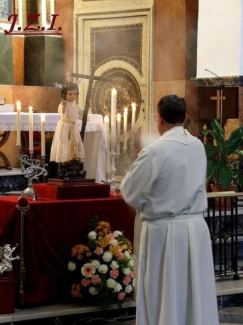 1 de Mayo, comenzamos el mes de María y del Niño Jesus de la Pasión