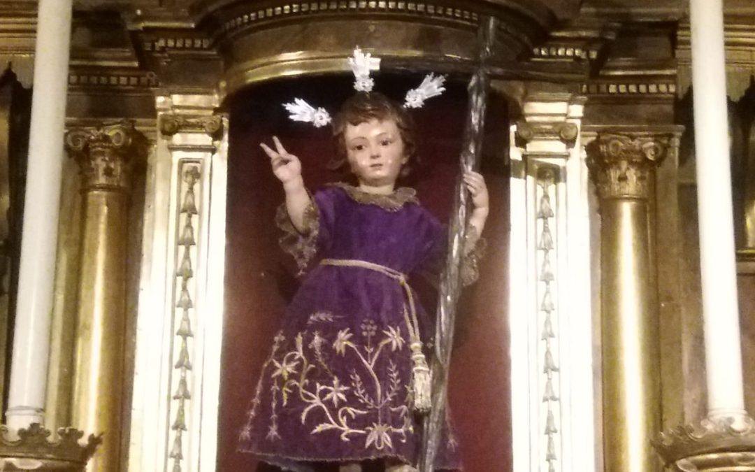 Nuestro Niño Jesús de la Pasión presidirá el Pregón de la Juventud Cofrade