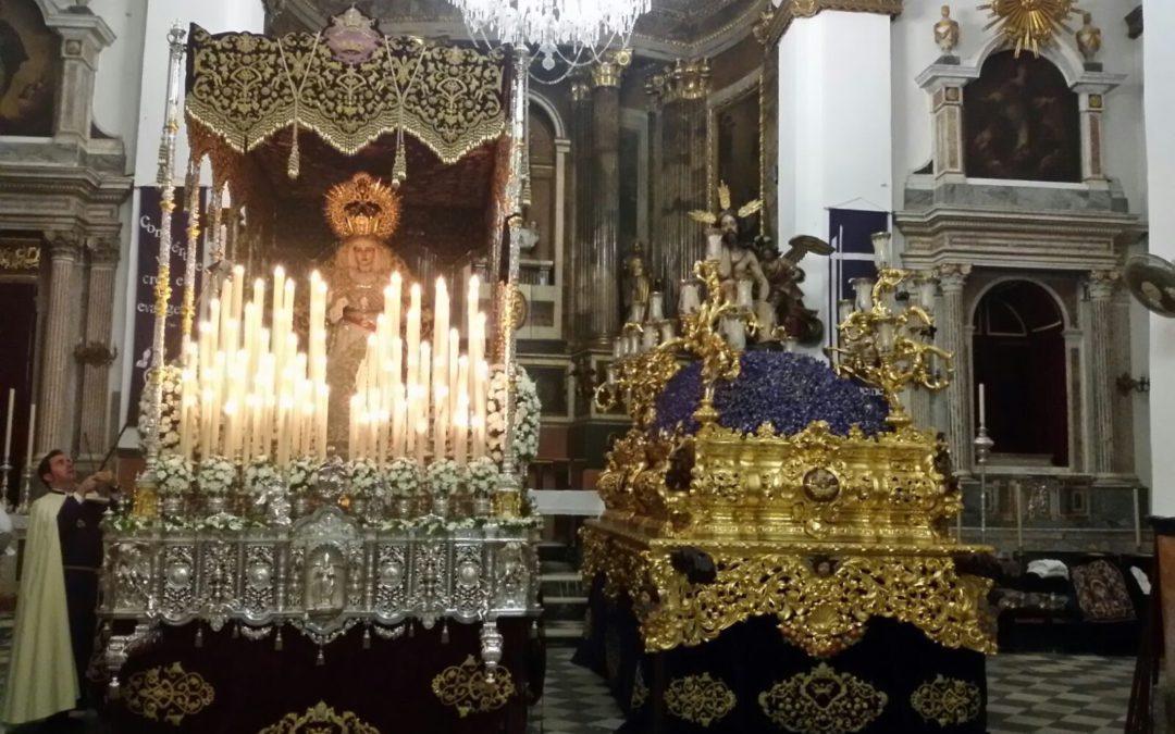 Traslado provisional por obras en San Agustin