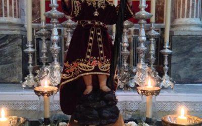 Peregrinación y Misa Votiva al Niño Jesús de la Pasión por el Dulce Nombre de Jesús.
