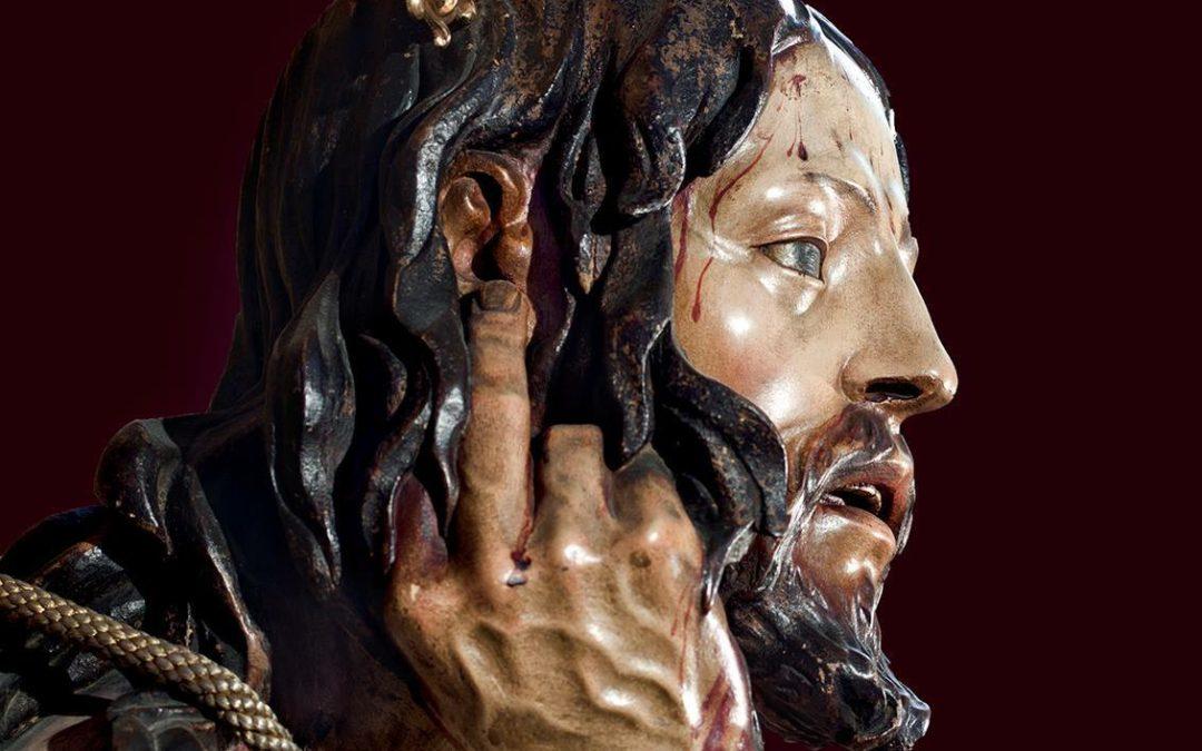 El Stmo. Cristo de la Humildad y Paciencia vuelve a su camarín.