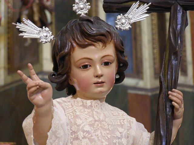 Bendición del Altar del Niño Jesús de la Pasión y aniversario de su bendición.