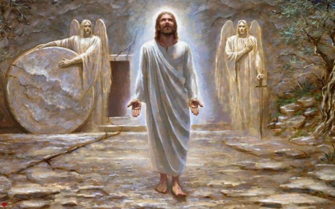 Feliz Pascua de Resurrección. Aleluya Aleluya.
