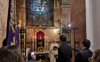 Bendición del Altar para el Niño Jesus de la Pasión.