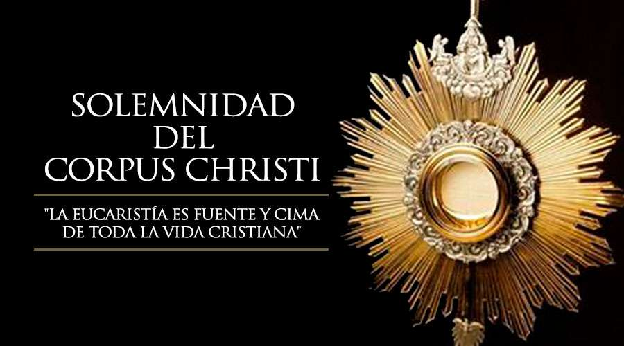 Bendito sea Jesús en el Santísimo Sacramento del Altar