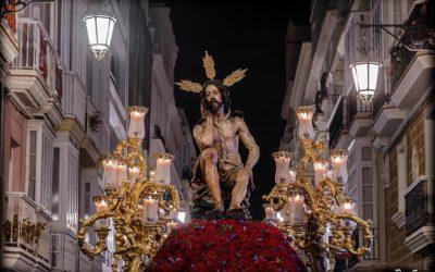 Domingo de Ramos 2020. Banda para el Stmo. Cristo de la Humildad y Paciencia.