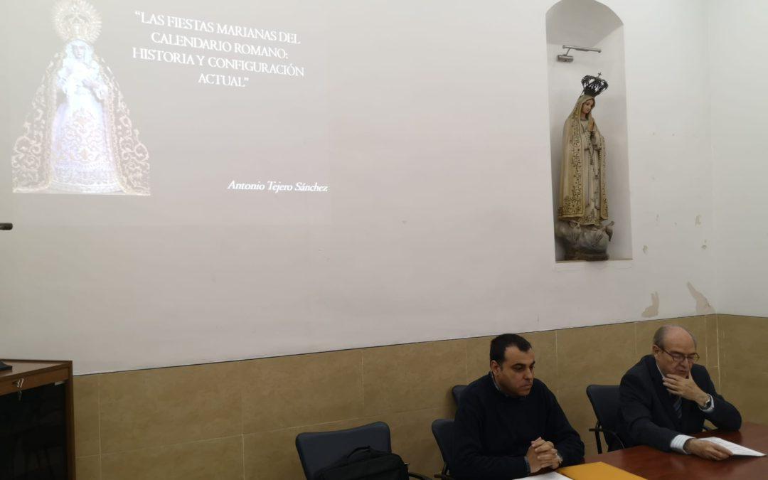 """Conferencia """"Las Fiestas Marianas del Calendario Romano: Historia y Configuración Actual"""""""