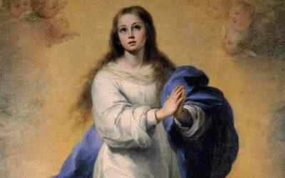 Novena a la Inmaculada Concepción. 5 de diciembre a las 18:45 horas