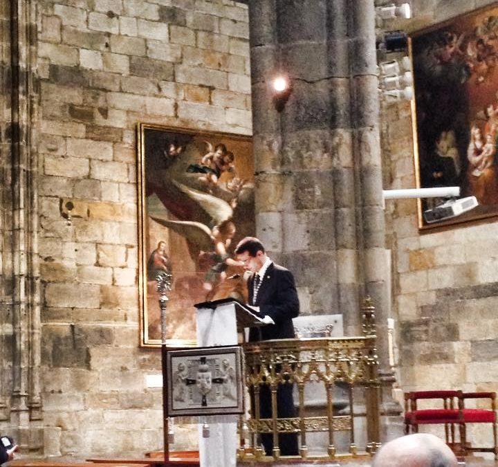 N.H.D. David de la Fuente Carrasco, pregonero de la Virgen de la Amargura de Puerto Real