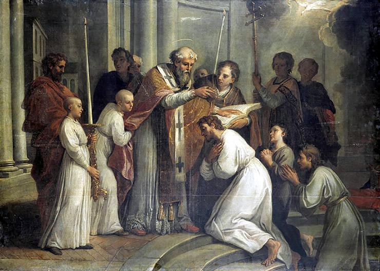 Triduo en Honor a San Agustín (tercer día)