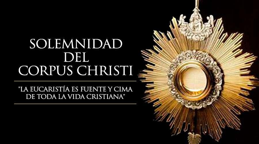 Bendito y Alabado sea por siempre el Santísimo Sacramento del Altar