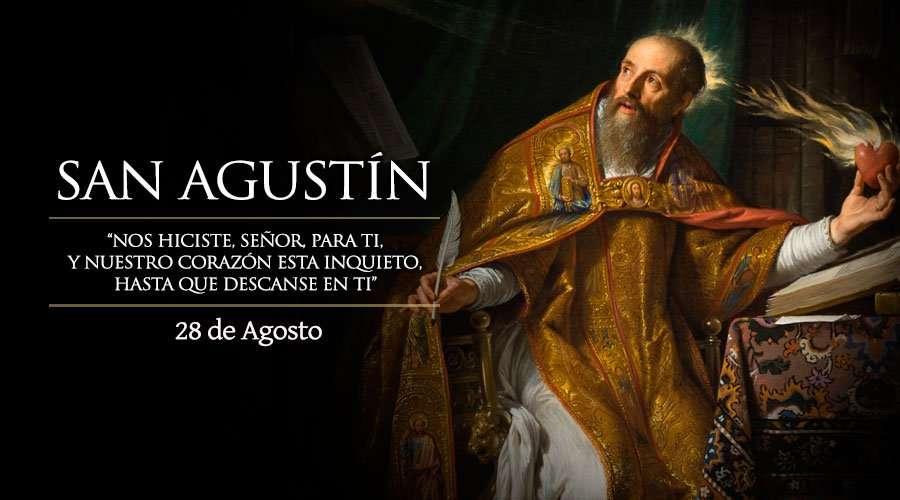 Onomástica de San Agustín