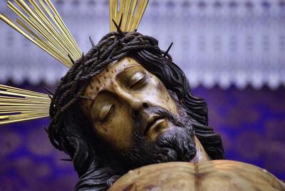 Elección del Stmo. Cristo de la Piedad como imagen del Viacrucis del Consejo Local de HH y CC