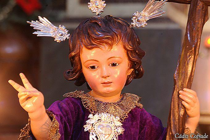 Santa Misa presidida por el Niño Jesús de la Pasión.