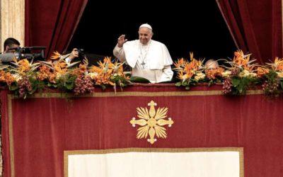 Bendición Urbi Et Orbi desde el Vaticano.