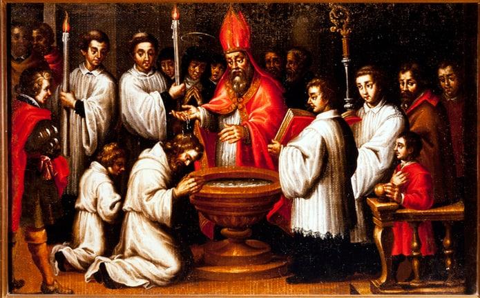 Festividad de la Conversión de San Agustín.
